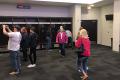 Dallas Cowboys Cheerleader Locker Room
