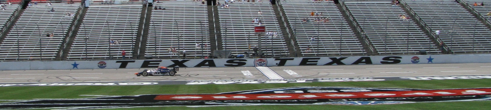 Texas Motor Speedway Driving Experiences