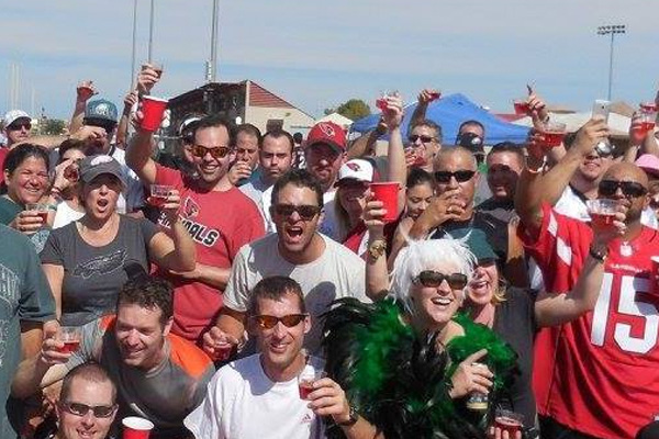Arizona Cardinals Tailgate Party
