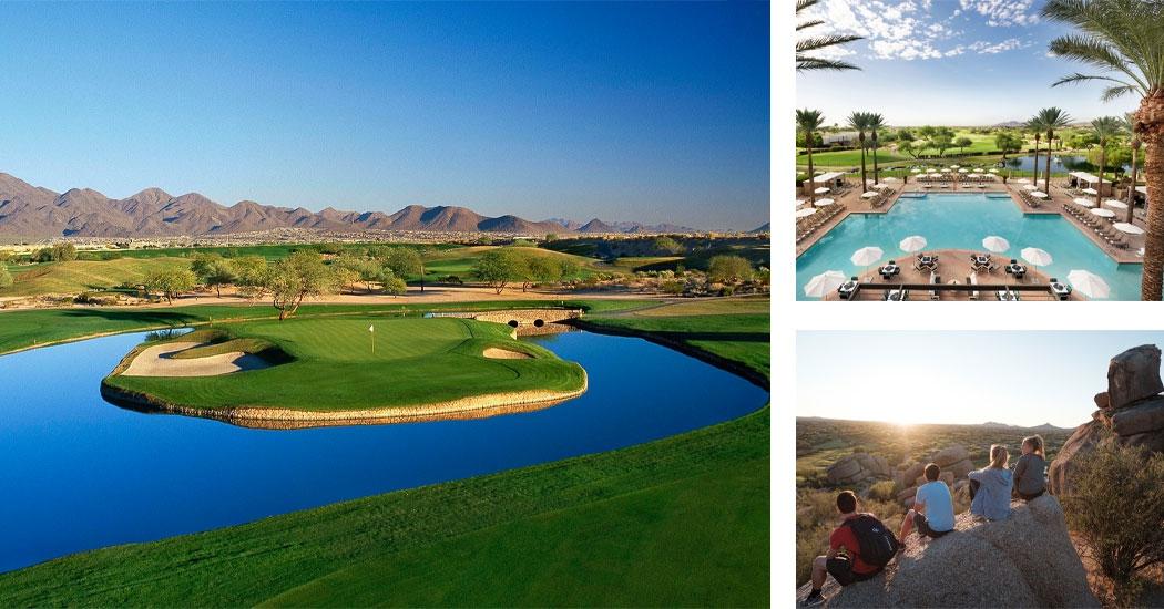 The TPC Stadium Course at the Fairmont Scottsdale Princess Resort