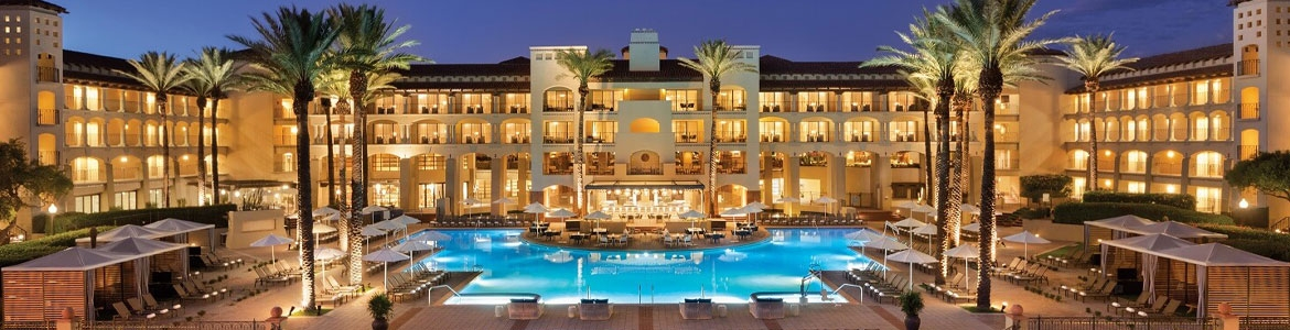 Exterior view of the Scottsdale Princess Resort